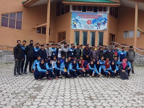 A week long Trekking Course held at IISM