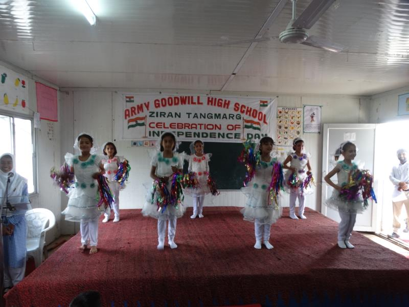 Wellcome dance during Independence Day celebrations 2017